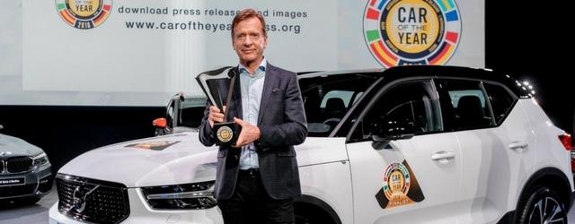 "Nuova Volvo XC40 è ""Car of the Year 2018"""