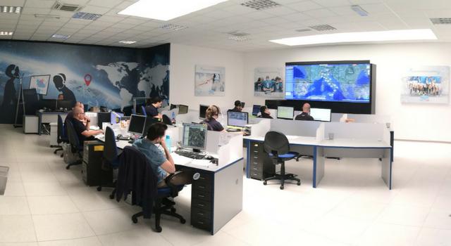 centrale operativa Viasat