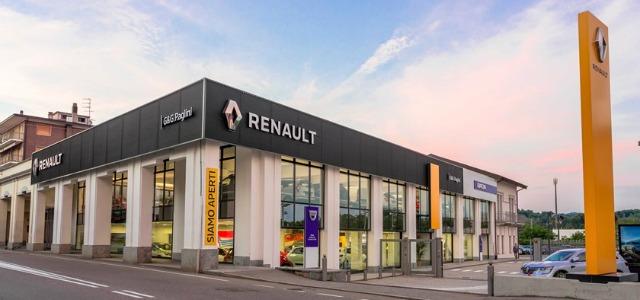 Nuovi concessionari Renault: lo store di Paglini a Varese