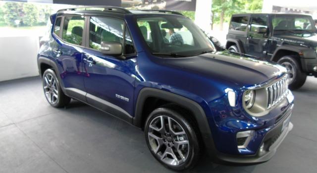 nuova Jeep Renegade Salone di Torino 2018