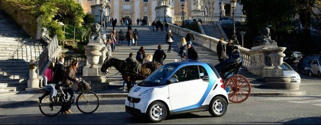 Car sharing a Roma