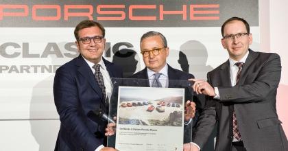 Porsche Classic, a Padova il secondo centro di assistenza