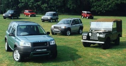 Assistenza Land Rover, la Freelander entra negli Heritage