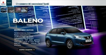 E-commerce Suzuki, vendite web e dealer a braccetto