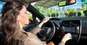 Sicurezza auto del futuro volante