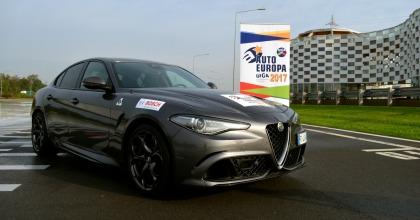 Alfa Romeo Giulia premiata dai giornalisti: è Auto Europa 2017
