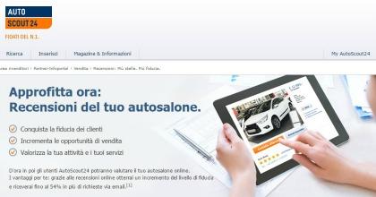 Recensioni sui concessionari online su AutoScout24