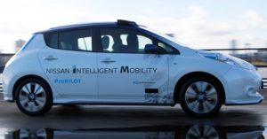 La Nissan Intelligent Mobility passa anche dalla Guida Autonoma