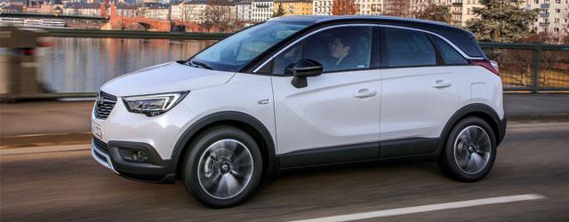 La nuova Opel Crossland X in dettaglio