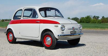 La Fiat 500 è l'auto più cercata dai collezionisti