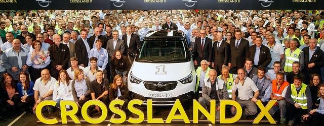 La nuova Opel Crossland X