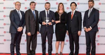 Toyota: Fuji Auto si aggiudica per il terzo anno il Premio Ichiban