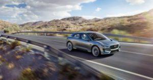 Jaguar I-Pace, auto elettriche 2018