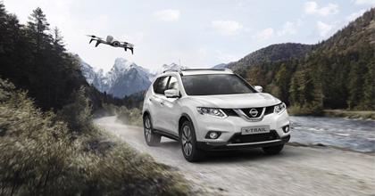 Nissan X-Trail X-Scape, il Crossover con il drone attorno