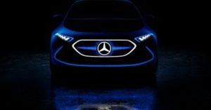 auto elettrica Mercedes EQ A Salone Francoforte