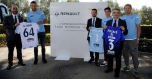 Concessionarie Renault Roma sponsor S.S. Lazio