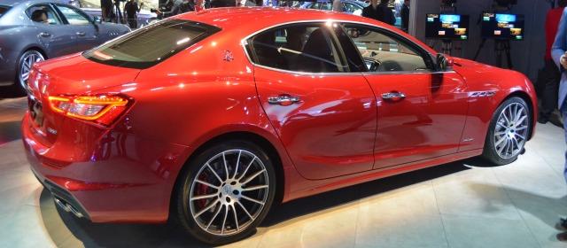 nuova Maserati Ghibli Salone Francoforte 2017