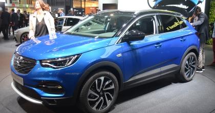 nuova Opel GrandLand X Salone Francoforte 2017