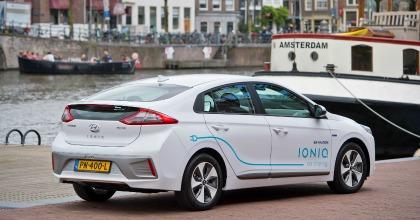 Ecco il primo car sharing elettrico Hyundai: è nato in Olanda