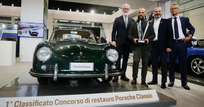 """Il Centro Porsche Milano vince la terza edizione del concorso """"Classic"""""""