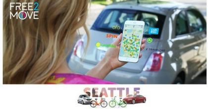 Free2Move, i servizi di mobilità di PSA sbarcano a Seattle