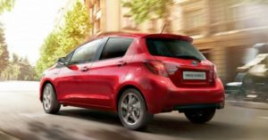 Mercato auto ibride 2017: Toyota Yaris ibrida