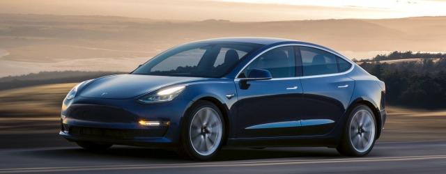 Auto elettriche 2018 Tesla Model 3