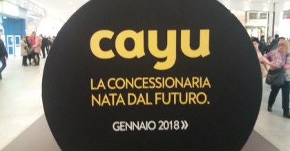 Cayu: presto in Italia il concessionario virtuale