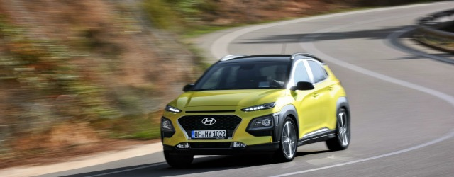 Nuova Hyundai Kona su strada
