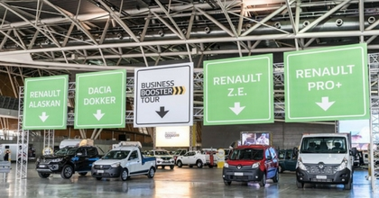 Renault Business Booster Tour 2018, al via la quarta edizione