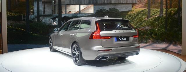 presentazione nuova Volvo V60 Salone di Ginevra 2018