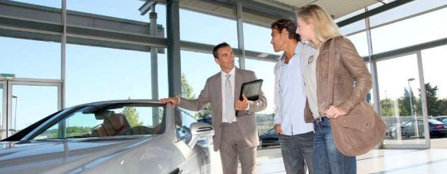 vendita auto showroom