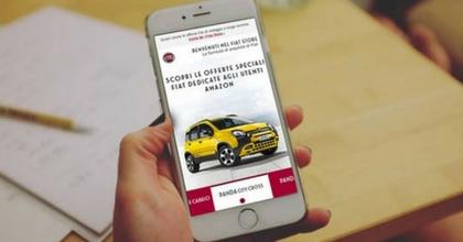 Fiat Store rinnova l'offerta su Amazon, più chance per i dealer