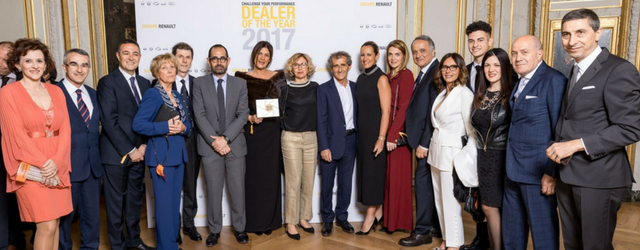Dealer of the Year 2017 Renault