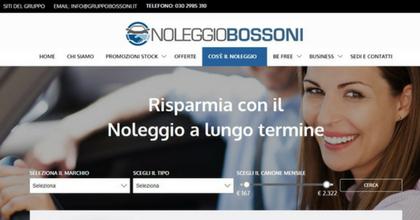 Noleggio a lungo termine Gruppo Bossoni