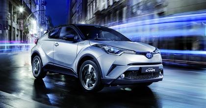 Toyota C-HR Hybrid con Toyota Hybrid Service