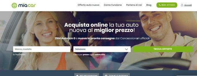 Miacar: l'auto del concessionario si vende sul web