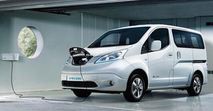 A Roma i concessionari Nissan lanciano l'e-van sharing