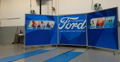 A Bergamo, da Iperauto, il service point dedicato ai veicoli commerciali Ford