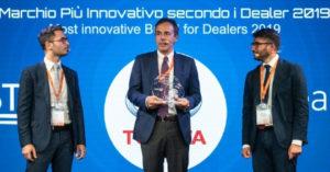 Toyota è il marchio più innovativo: il premio ad Automotive Dealer Day 2019