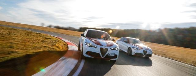 Alfa Romeo Giulia Quadrifoglio e Stelvio Quadrifoglio Alfa Romeo Racing 2019