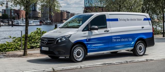 Nuovo Mercedes eVito Transpotec 2019