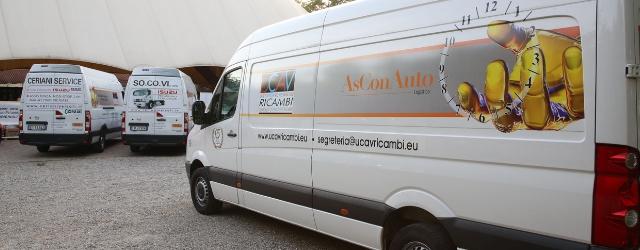 Distribuzione ricambi originali officine furgoni AsConAuto