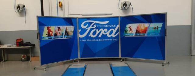 Il service point dei veicoli commerciali al FordStore Iperauto