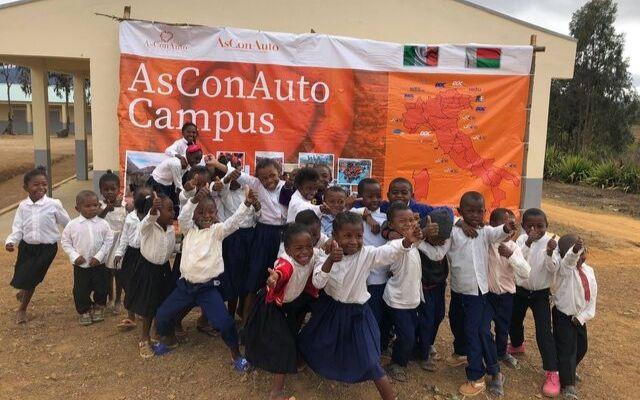 AsConAuto Solidale il progetto AsConAuto Campus in Madagascar