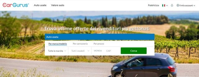 CarGurus arriva sul mercato italiano