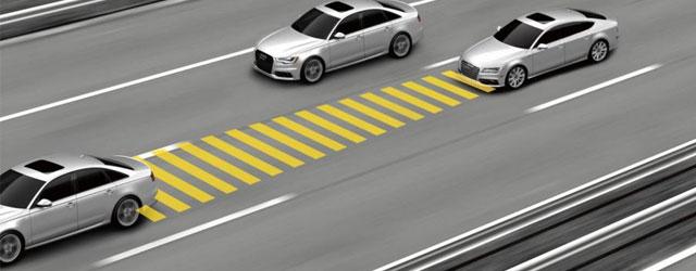 Cruise Control adattivo: controllo della velocità di crociera e mantenimento della distanza di sicurezza