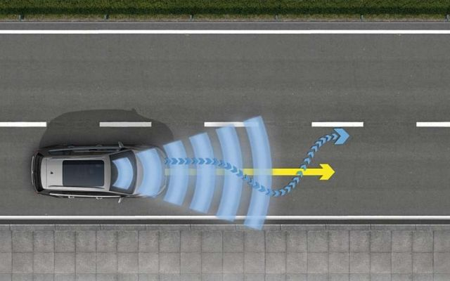 Lane Assist, il sistema di mantenimento della corsia