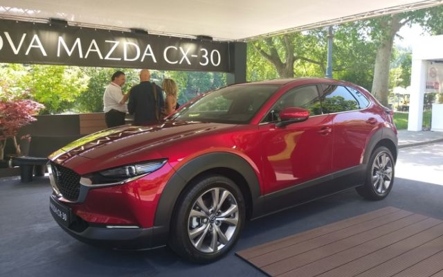Salone Auto Torino 2019: in anteprima Mazda CX-30
