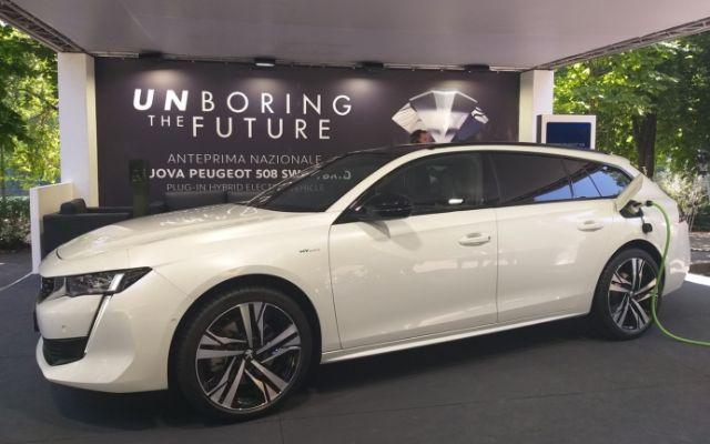 Salone Auto Torino 2019: in anteprima Peugeot 508 SW ibrida plug-in